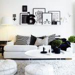 """, 2018, anul """"alb – negru"""" în materie de decorațiuni interioare"""