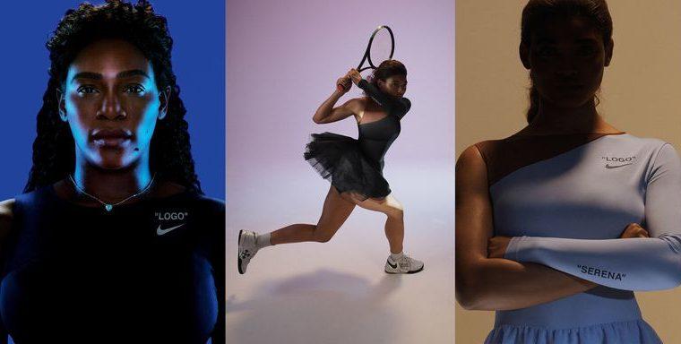 serena williams, Nouă colecție Nike gândită de Virgil Abloh pentru Serena Williams