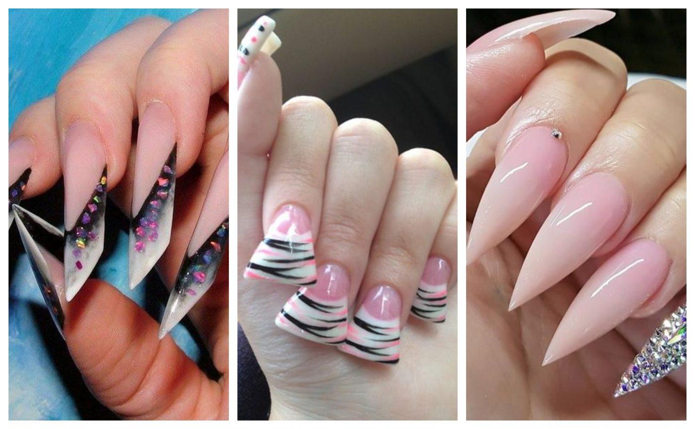 MANICHIURĂ: 3 forme de unghii mai incomode