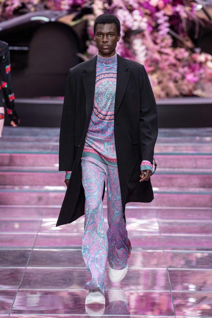 Versace, Versace menswear primăvară 2020