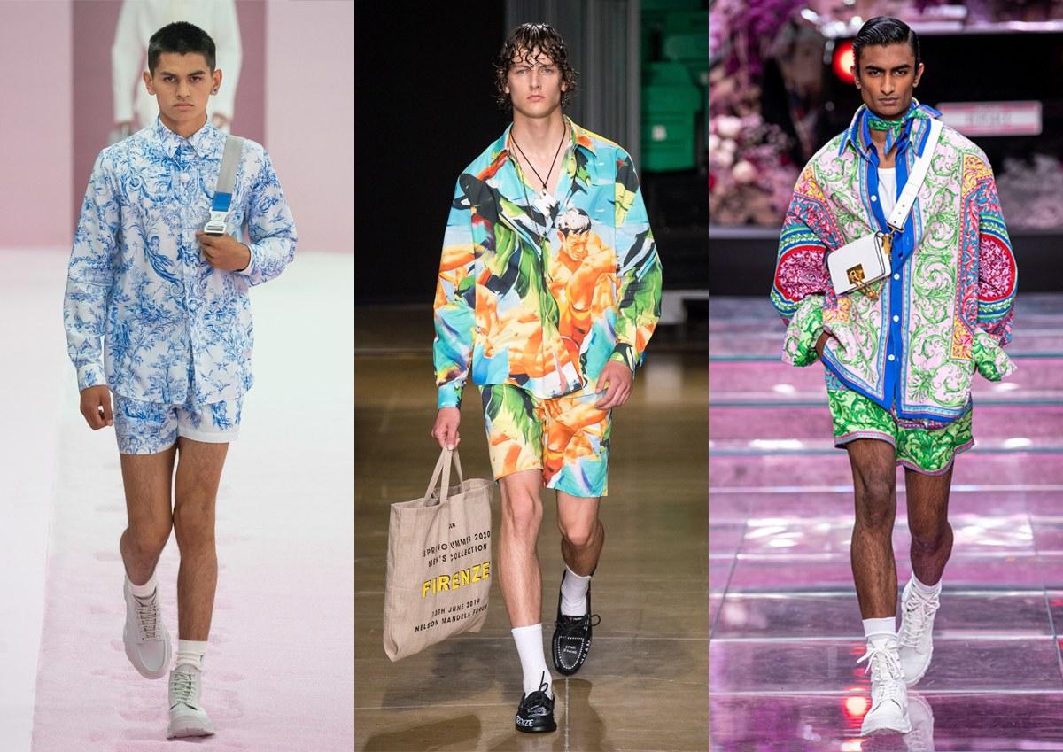 Dior Men, MSGM, Versace
