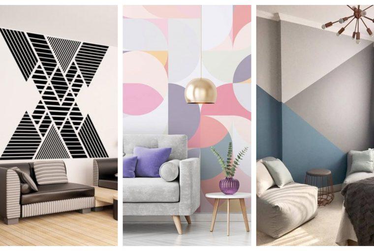 pereți geometrici, Pereți geometrici – o soluție ce poate fi șic în amenajări interioare moderne