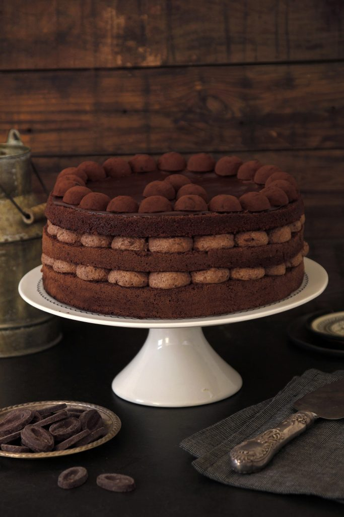 Tort de ciocolată, Tort de ciocolată