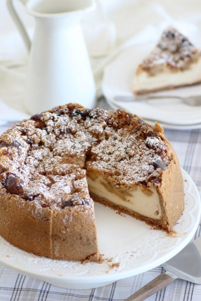 Cheesecake cu mere
