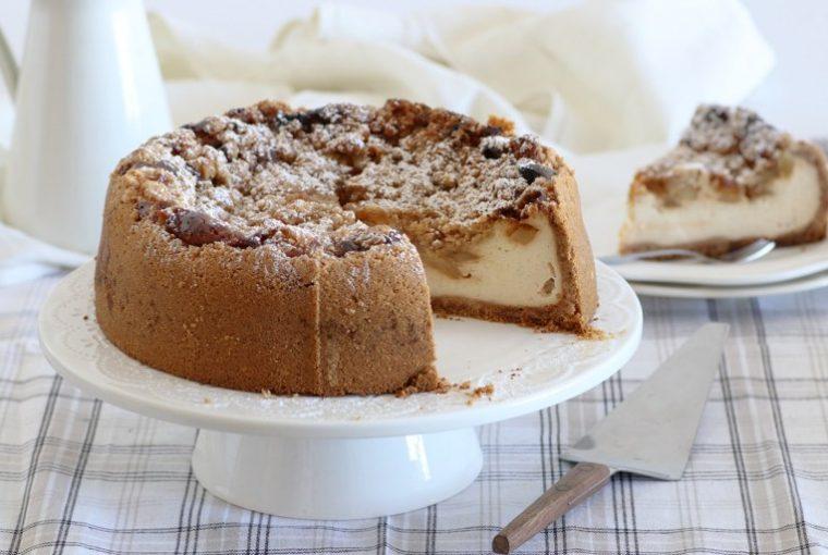 Cheesecake cu mere, Cheesecake cu mere