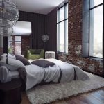 cărămidă, 90 de idei de amenajări interioare cu pereți de cărămidă