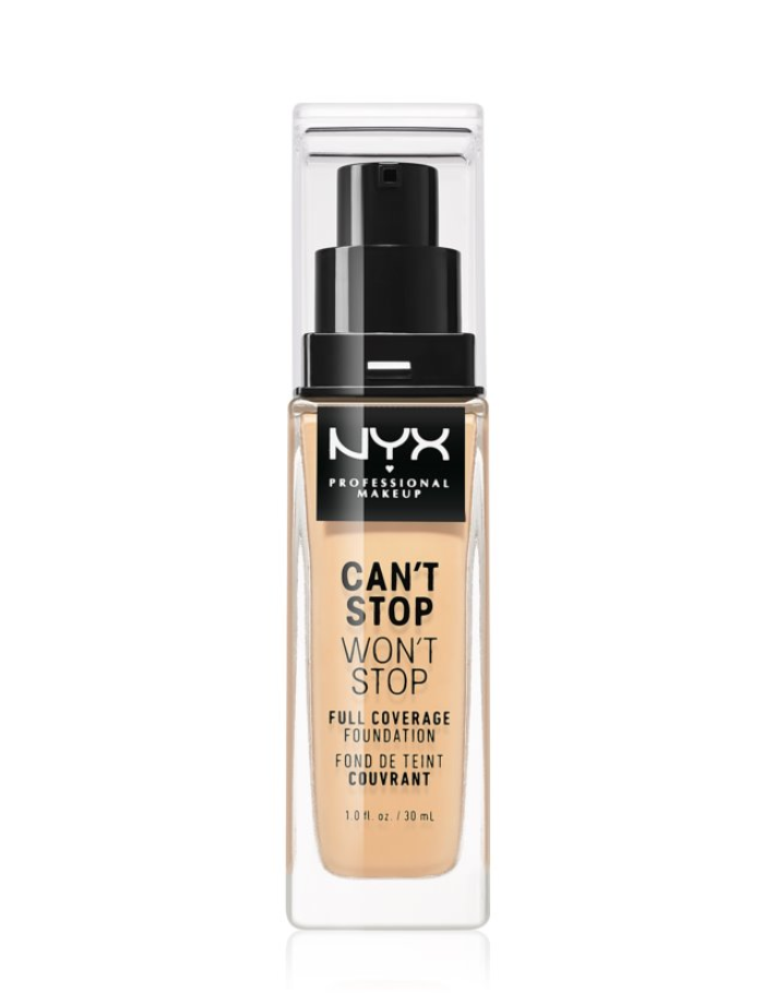 fond de ten NYX Professional Makeup Can't Stop Won't Stop notino