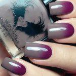 unghii ombre