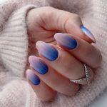 unghii ombre, 50 de modele unghii ombre potrivite pentru iarna aceasta