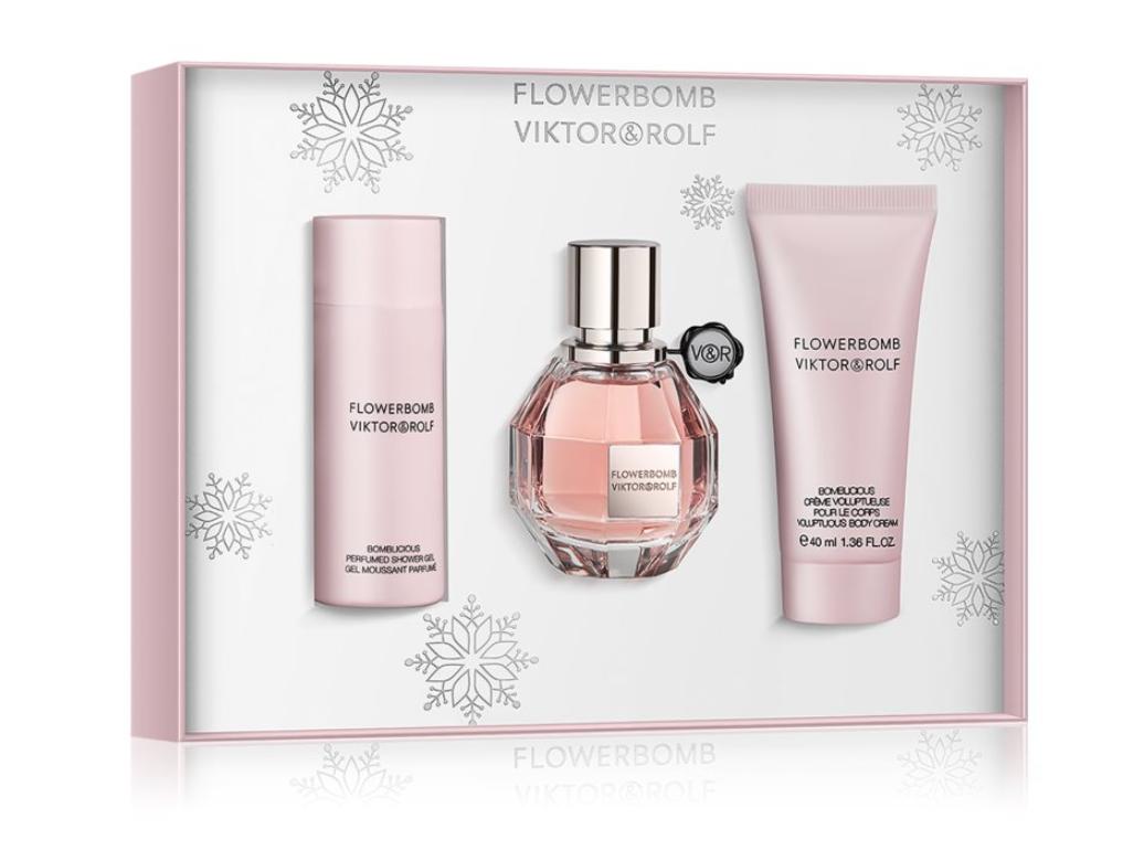 parfum crăciun flowerbomb notino