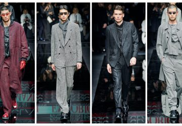 Emporio Armani 2020 Menswear Collection profil