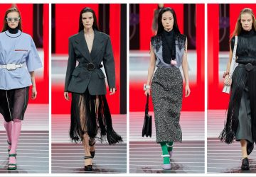 Prada Ready to Wear toamnă 2020 profil