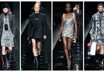 Versace Ready to Wear toamnă 2020 profil