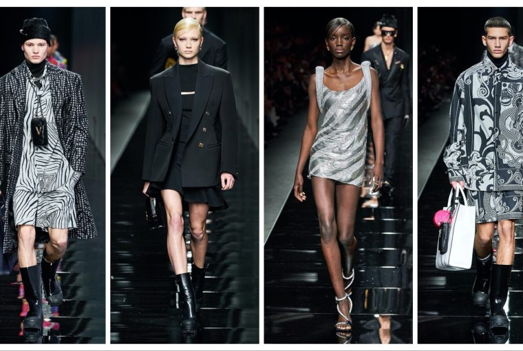 Versace Ready to Wear toamnă 2020 profil