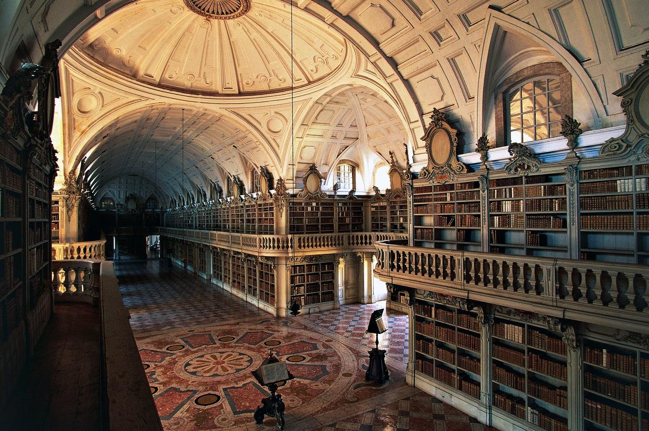 Biblioteca Națională Mafra Palais