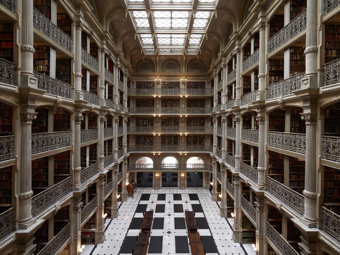 Biblioteca George Peabody din Baltimore