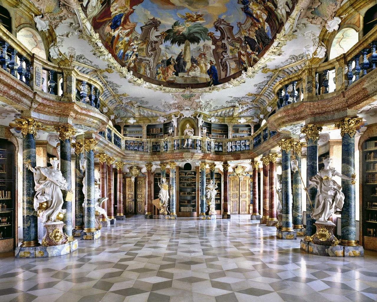 Biblioteca Abbey Wiblingen