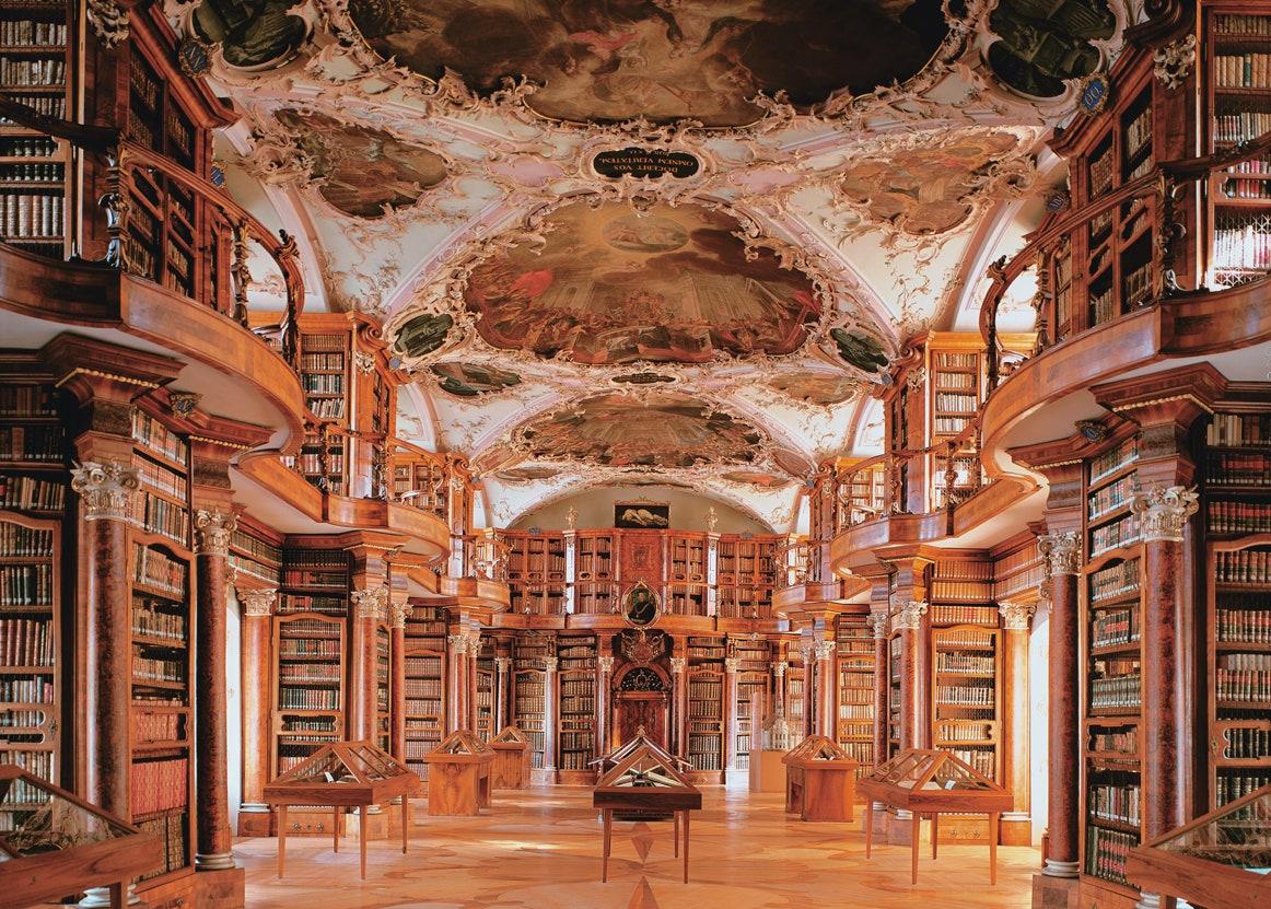 Biblioteca Abbey Saint-Gall