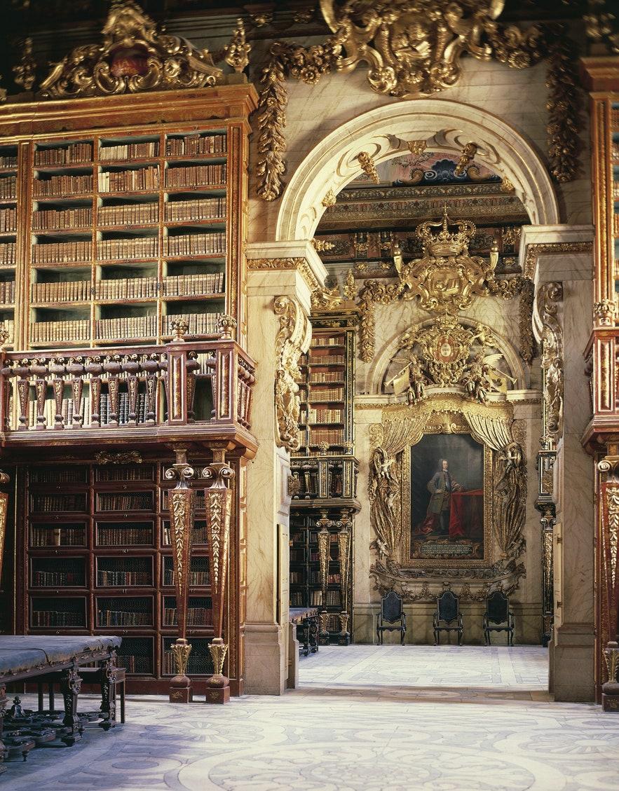 Biblioteca Universității Coimbra