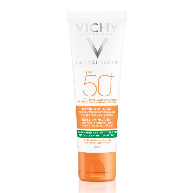 Vichy cremă matifiantă 3 în 1 SPF 50+