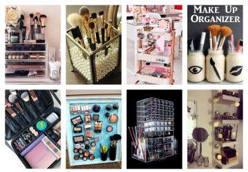 organizarea produselor și accesoriilor de makeup