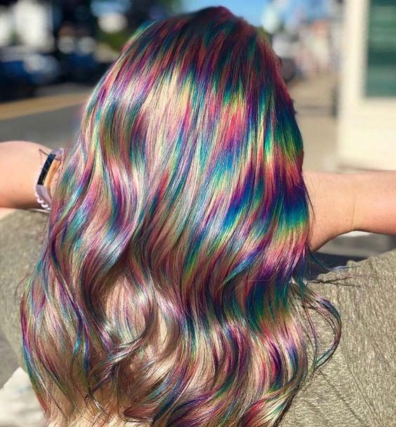 părul holografic