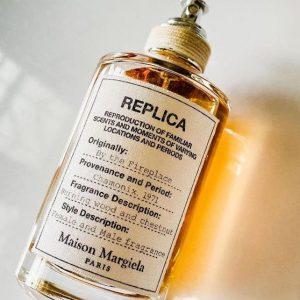 Maison Margiela Replica by the fireplace notino