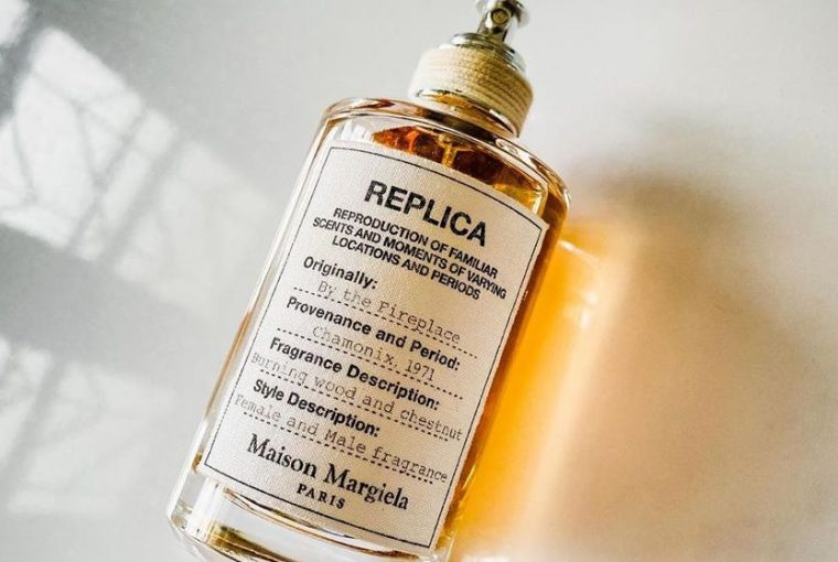 Maison Margiela Replica by the fireplace notino