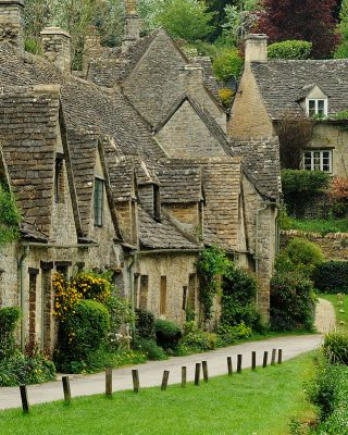 sate autentice din Anglia