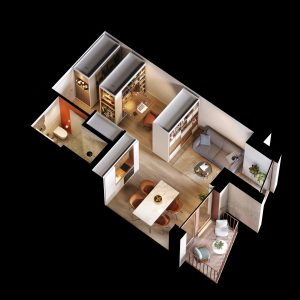 apartamente reconfigurabile