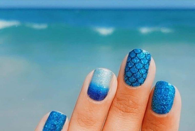 manichiură pentru plajă